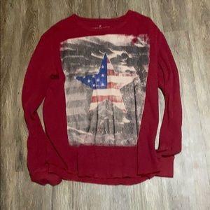 men's american eagle shirt size large